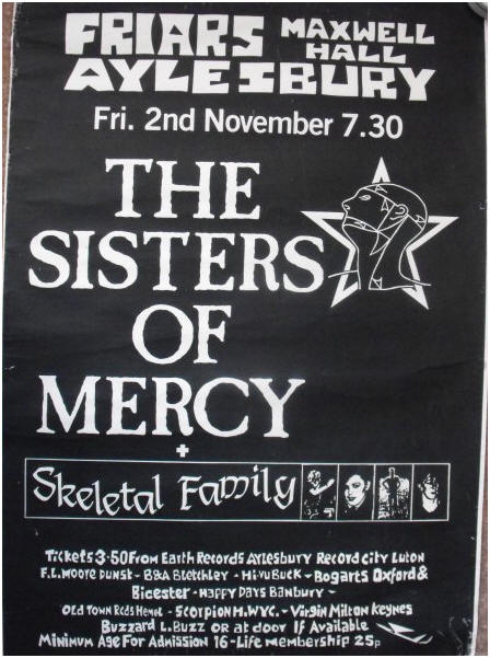 Sisters Of Mercy Live At Brixton Academy